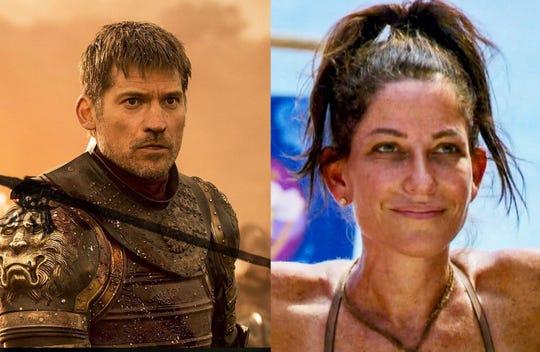 Jaime Lannister, left, and Julie Rosenberg