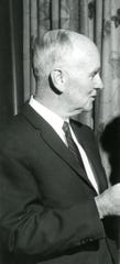 Charles McCarthy, Catholic co-chair of Knoxville Roundtable of the National Conference of Christians and Jews, February 1966.