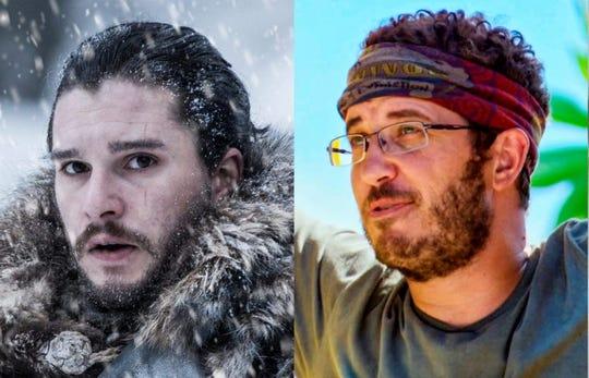 Jon Snow, left, and Rick Devens