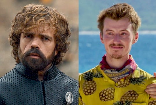 Tyrion Lannister, left, and Gavin Whitson