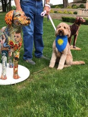Bring your (leashed) four-legged friend to Art Bark 'n Brew on May 11 at the Greater Lafayette Museum of Art, 102 S. 10th St., in Lafayette.