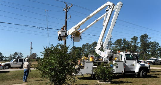 SLEMCO power outages left 10,000 without power, closed 12 schools in St. Landry Parish.