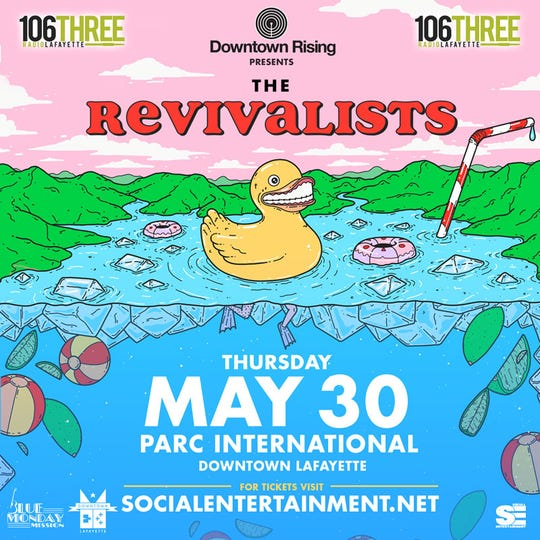 Downtown Rising presents The Revivalists poster