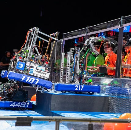 Brighton's 'TechnoDogs' win robotics world championship in Detroit