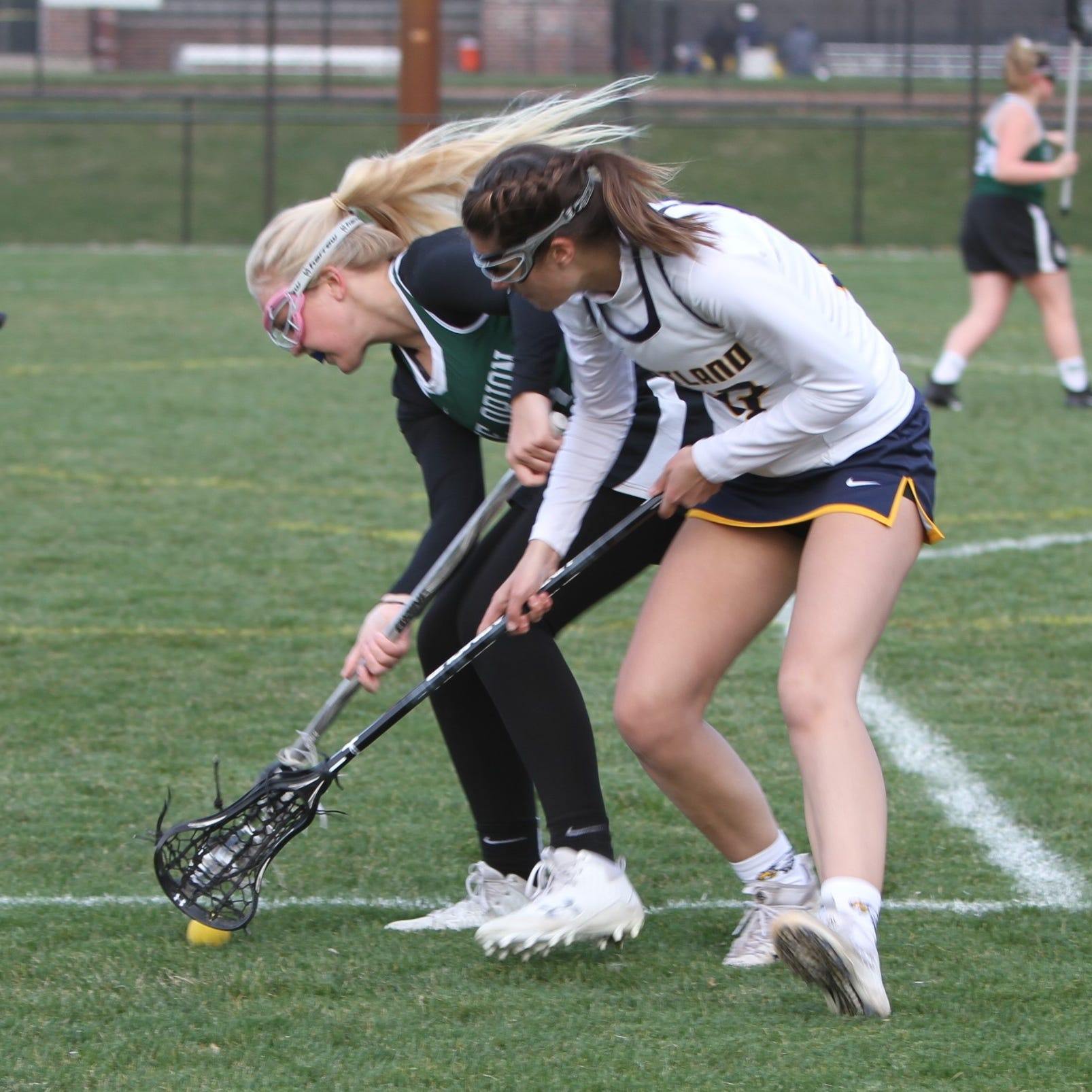 Hartland stays unbeaten in girls lacrosse