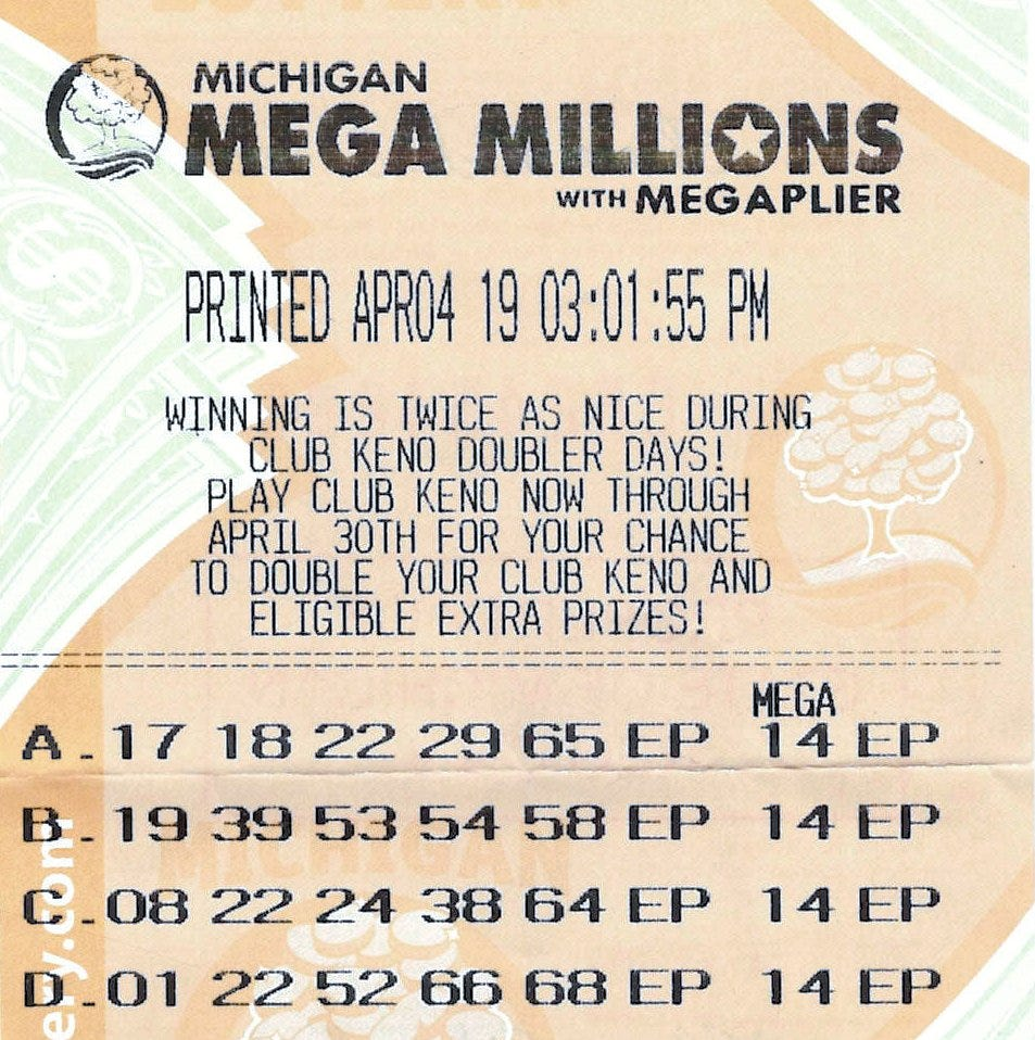 Pewamo man claims $1 million Mega Millions lottery prize