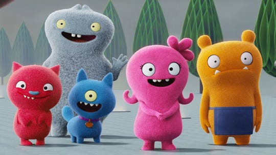 "Look out Minions, here come the ""UglyDolls."""