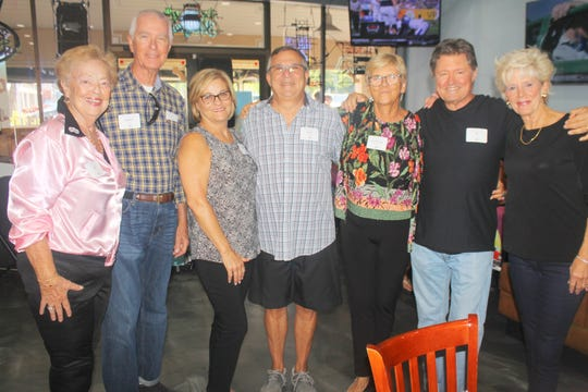 Judy and Barry French, Debbie & Nick Rago, Kathleen Reynolds, Jay Terzis and Jane DeMado are ready for a fun evening.