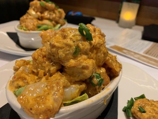 The Bang, Bang SHrimp from Bonefish Grill, Naples.