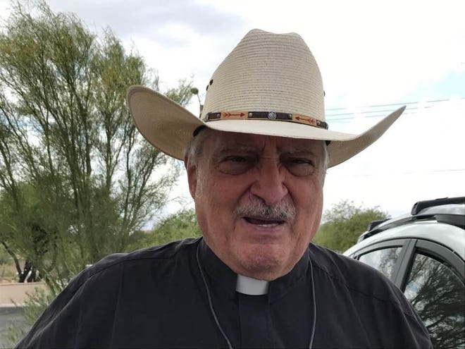 The Rev. John Pantuso, who died April 26, had a unique personal history, having left the priesthood for love and being reinstated after the death of his wife.