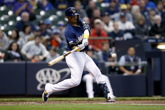 Orlando Arcia entered play Wednesday night with a batting average of .257 after hitting .236 last season.