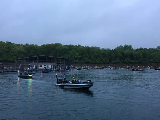 Two Bassmaster tournaments drew nearly 1,000 visitors from across 22 states over the course of last week.