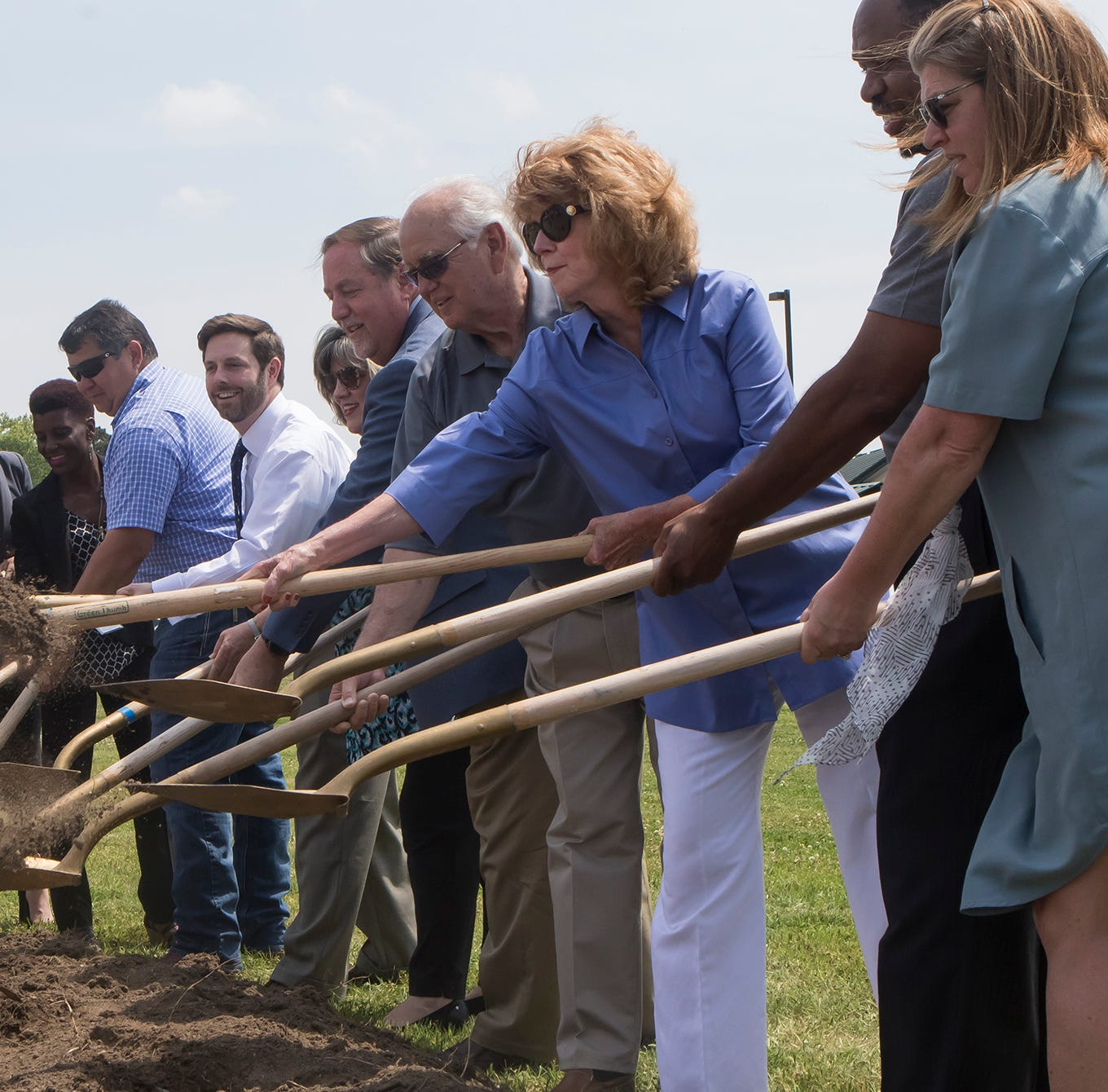 WM, Ouachita Schools break ground on fitness trail