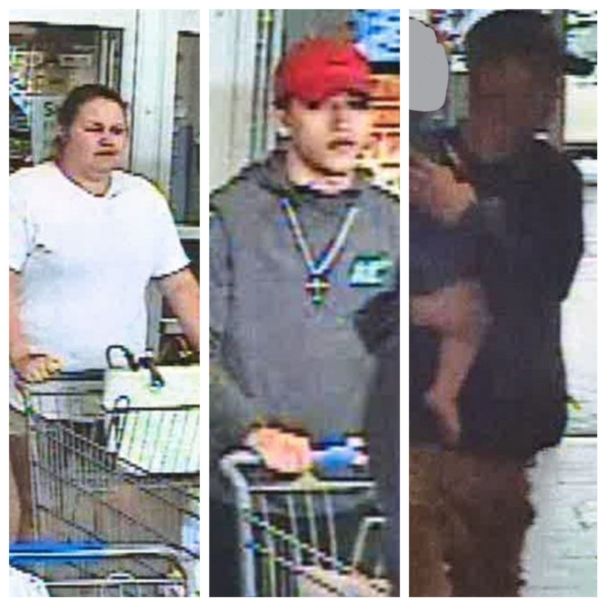 Two men, woman wanted after dropped credit card used in Prattville Walmart