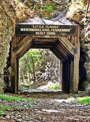 Westmoreland is home to what is believed to be one of the smallest train tunnels in the United States.