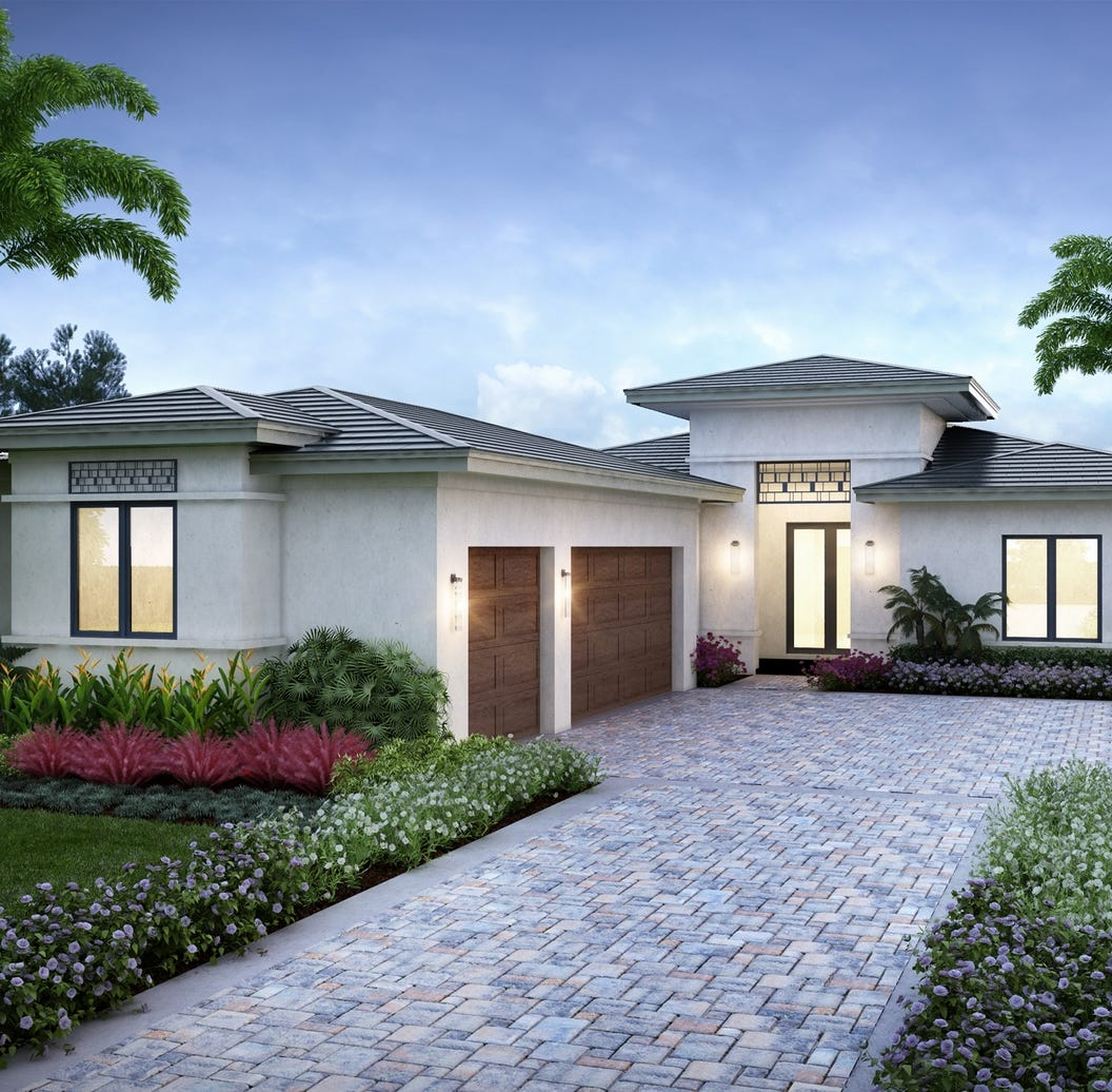 New design choices from the high-$800s offered in Cabreo and Lucarno at Mediterra