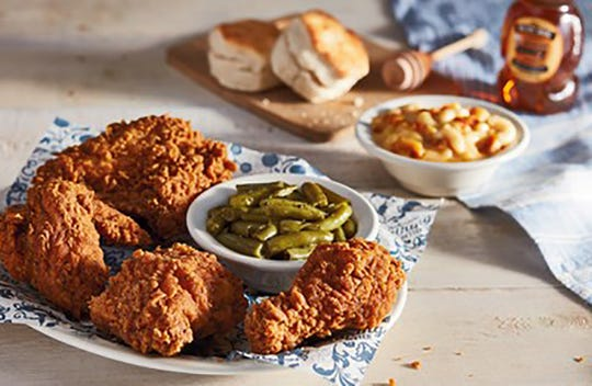To celebrate its 50th anniversary, Cracker Barrel Old Country Store announced the launch of Southern fried chicken.