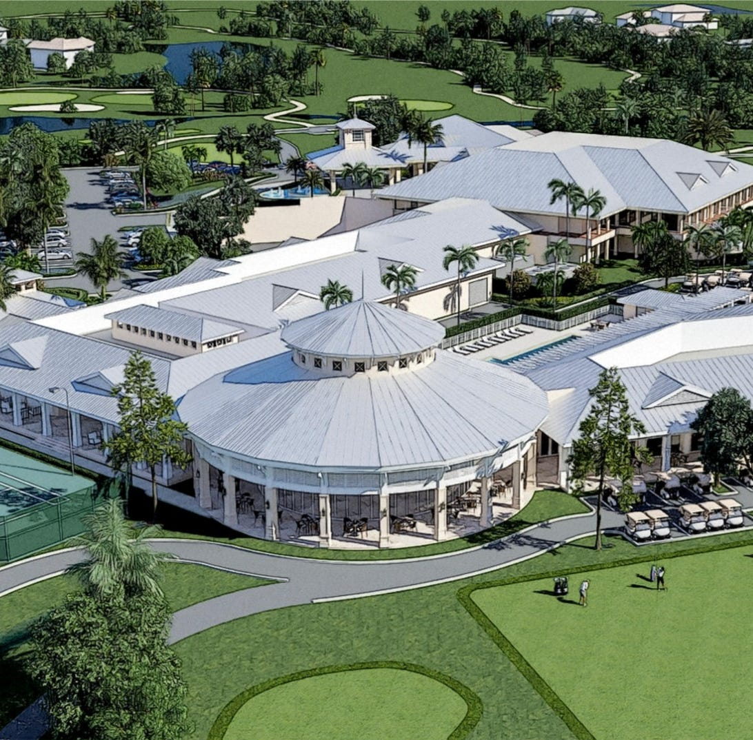 Sports center & spa at Quail Creek Country Club designed to integrate programs