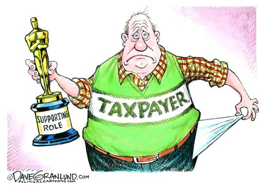 taxpayer in supporting role