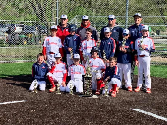 The Licking County Settlers 10U finished as Gold Bracket runner-up last weekend at Berliner Park.