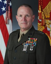 Lt. Gen. Mark Brilakis of the Marine Corps, who grew in Haworth, is retiring after 38 years.