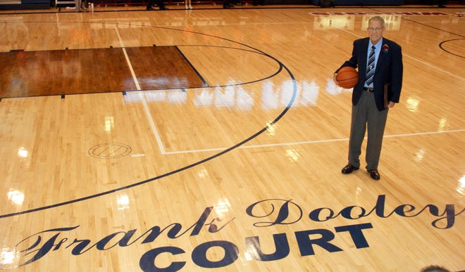 Former Deming High boys' basketball coach Frank Dooley