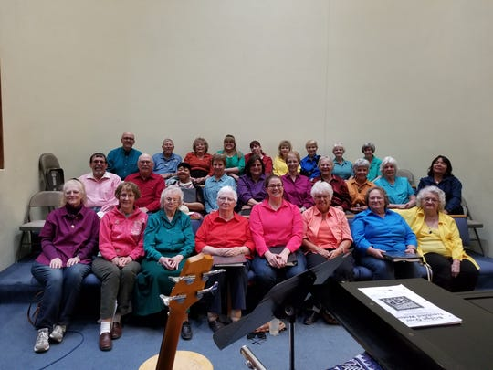 The Deming Community Choir will perform its free spring concert at 3 p.m. on Sunday at the Deming Public Schools Auditorium
