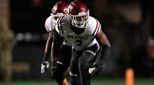 Former New Mexico State linebacker Terrill Hanks signed with the Miami Dolphins as an undrafted free agent.