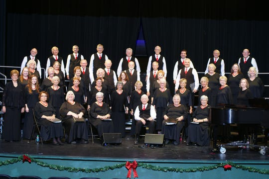 """The Mesilla Valley Chorale, directed by Nancy Ritchey, presents """"Celebrate Music"""" at 3 p.m. at the historic Rio Grande Theatre in downtown Las Cruces May 12."""