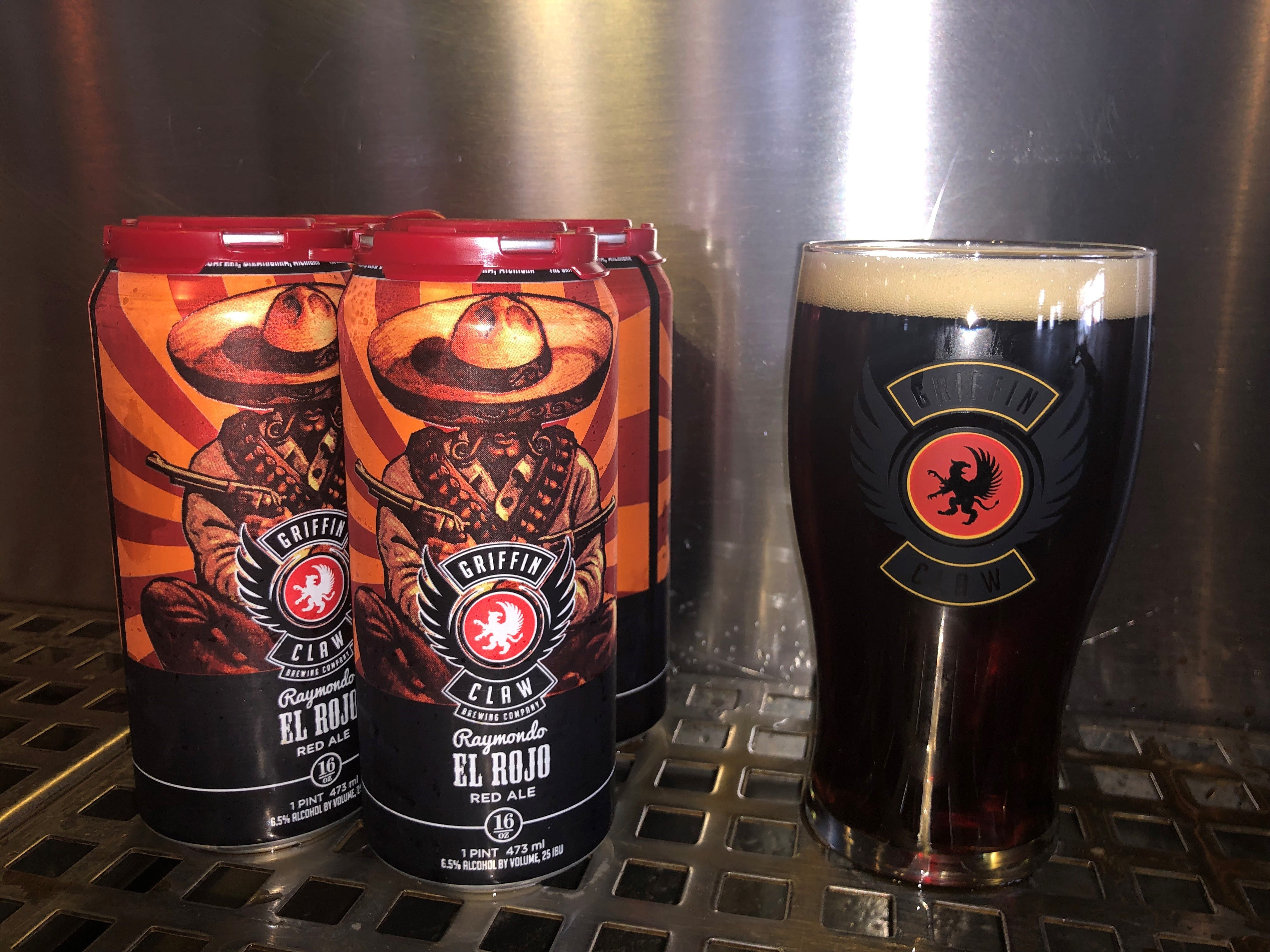 El Rojo, a beer crafted at Griffin Claw Brewing Company in Birmingham, recently was awarded a gold medal at the World Expo of Beer competition.