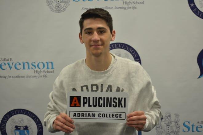 Livonia Stevenson's Mitchell Plucinski will wrestle next year at Adrian College.