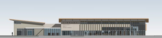Construction on a new Desert Hot Springs library could begin late this year on county-owned land at Palm Drive and Park Lane. It would be15,500 square feet.