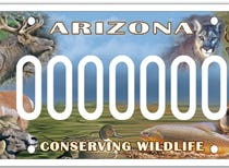 Arizona Sportsmen for Wildlife Conservation specialty plate