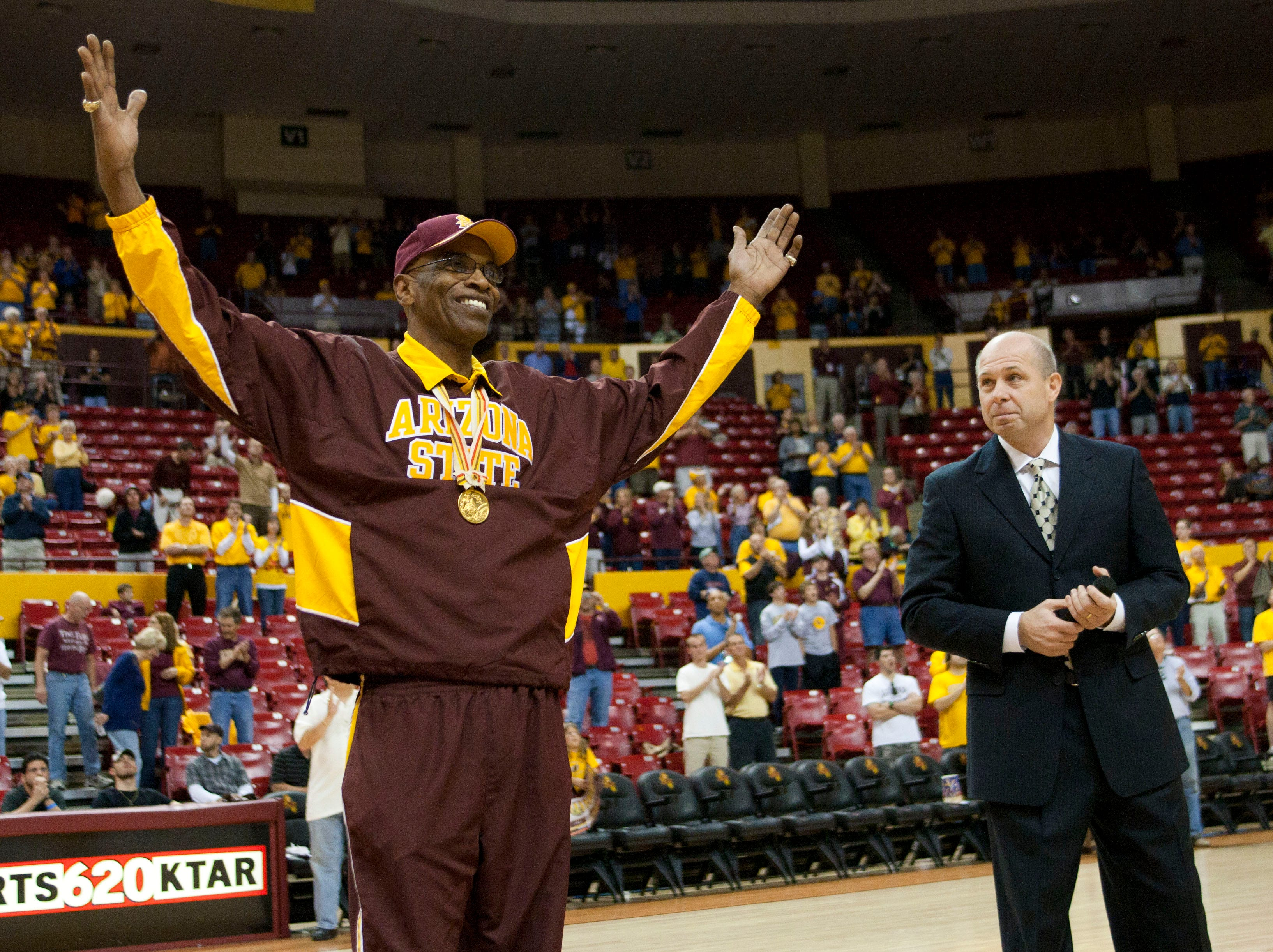 Joe Caldwell played basketball at Arizona State from 1961-1964 and was named an All-Star in both the ABA and NBA.
