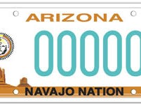 Arizona Navajo Nation specialty license plate