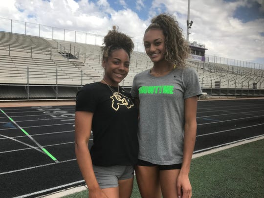 North Canyon junior phenoms Jadyn Mays, left, and Dominique Mustin, will try to lead team to third straight girls state title.
