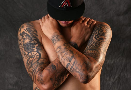 Yoan Lopez's tattoos tell a story.
