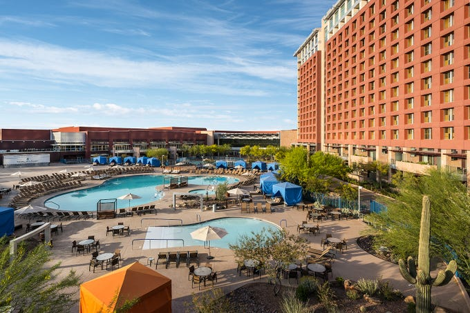 Talking Stick Resort, a AAA Four Diamond rated hotel, is located at the heart of the Talking Stick Entertainment District.