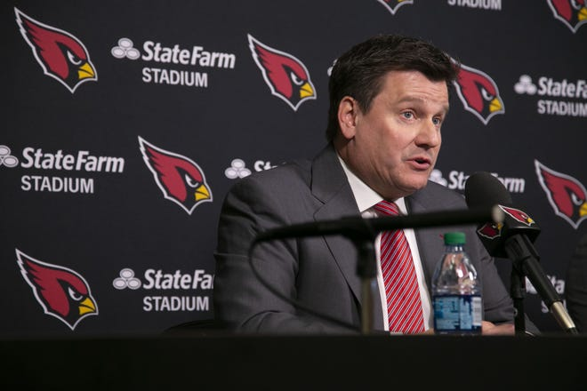 Michael Bidwill has served as the Cardinals' president since 2007.