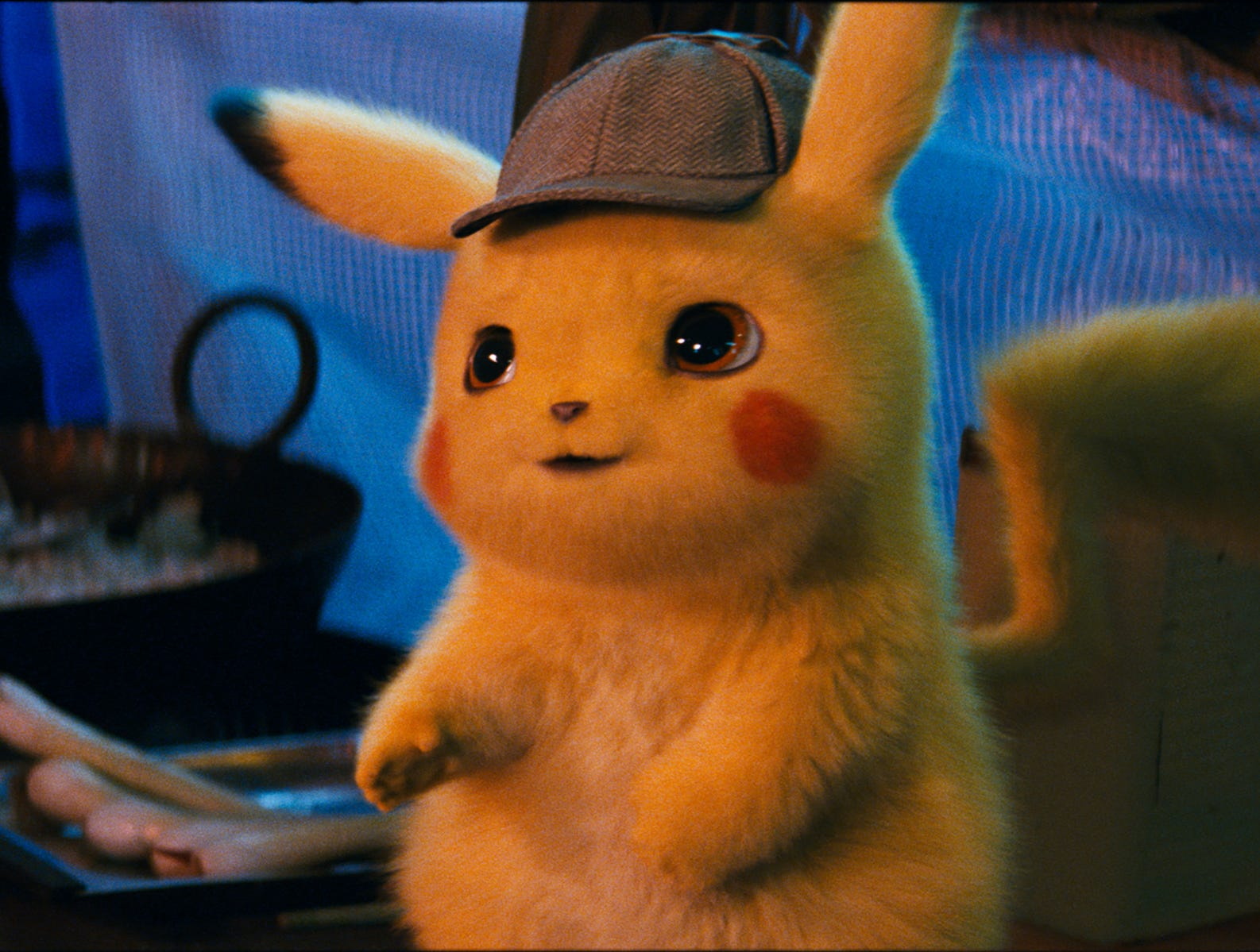 "Pikachu (voiced by Ryan Reynolds) not only stars in ""Pokemon Detective Pikachu,"" he's also the face of the Pokemon franchise."