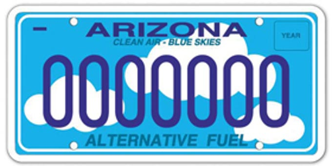 Arizona energy efficiency specialty plate