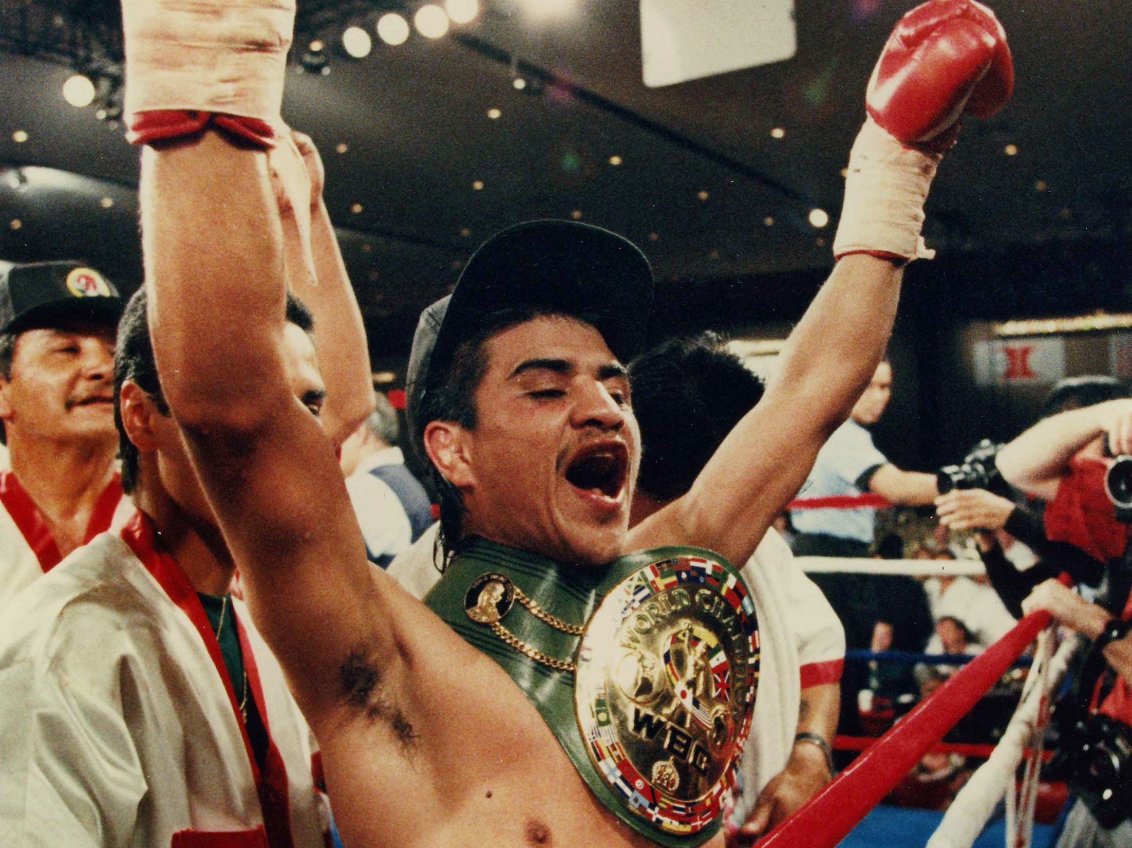 Light-flyweight boxer Michael Carbajal was a five-time boxing championand won a silver medal at the 1988 Seoul Olympics.