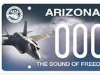 Arizona Luke Air Force Base specialty license plate