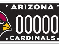 Arizona Cardinals specialty plate