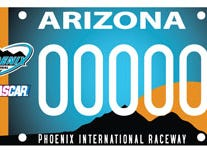 Arizona Phoenix International Raceway specialty license plate