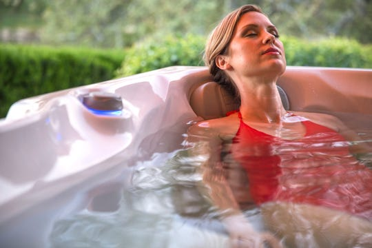 Warm water immersion and meditation both act to combat the effects of stress by triggering mental and physical relaxation.