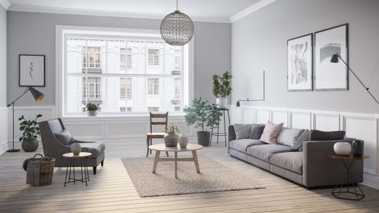 A clean, calming gray color scheme can be achieved with a little research and understanding of base color.