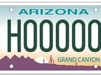 Arizona hearing imparied specialty license plate