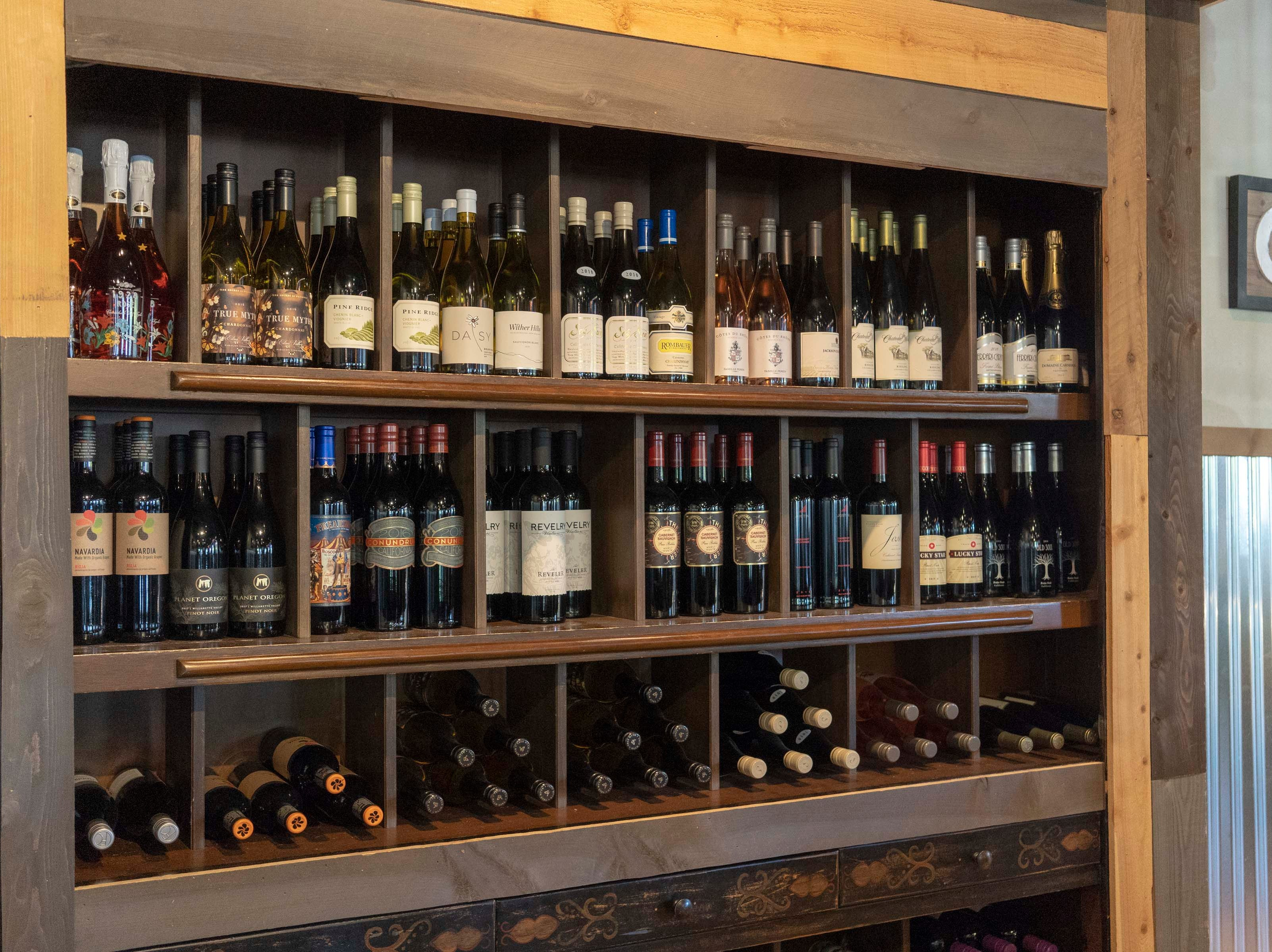 Urban Margarita offers a wine room for special events.