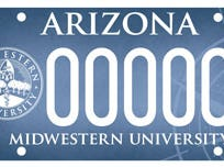 Arizona Midwestern University specialty license plate